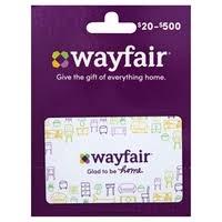 Wayfair - Wayfair, Gift Card, $20-$500 | Shop | Weis Markets