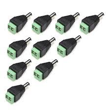 Shop <b>5Pairs DC</b> Power Male Female 5.5x2.1mm <b>Connector Adapter</b> ...