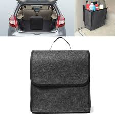 11.8x11.4 x6.3inch <b>Felt Cloth Foldable</b> Car Back Rear Seat ...