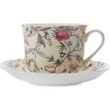 <b>Чашка с блюдцем Maxwell</b> & Williams Летние цветы большая ...