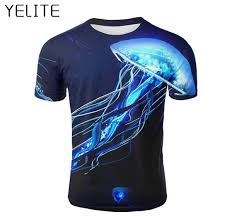 <b>YELITE Men</b> S T Shirt 3d Print <b>T Shirt</b> Summer Shirts Short Sleeve ...