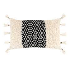 <b>Подушка декоративная Wittkemper</b> cozy черная 45х45х15 ...