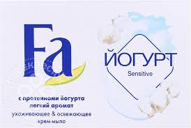 Купить Крем-<b>мыло Fa</b> Йогурт <b>Sensitive</b> 90г с доставкой на дом по ...