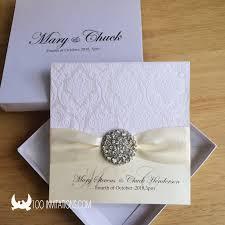<b>Luxury</b> Box Wedding Invitations With <b>Big Rhinestone Crystal</b>