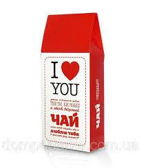 "Подарочный <b>чай</b> ""Я тебя люблю"" для любимых, 100г, цена 169 ..."