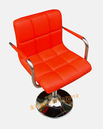 swivel chair stylish red