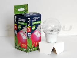 Светодиодная <b>лампа для растений Uniel</b> 9W UL09645