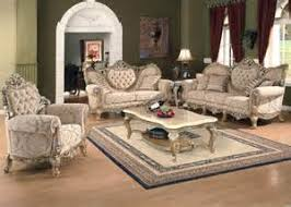 luxury formal living room furniture white