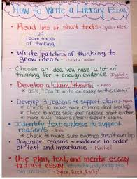 ideas about literary essay on pinterest how to write a literary essay anchor chart
