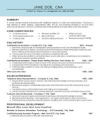 assistant cna resume example nurse assistant cna resume example