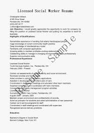 work resume resume samples licensed social worker resume sample work resume 0825
