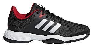Adidas Barricade 2018 <b>xJ</b> Black/<b>Red</b> Junior Shoes - Tennis Topia ...