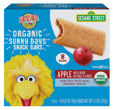 <b>Organic</b> Apple <b>Sunny Days</b> Snack Bars For Toddlers | Earth's Best
