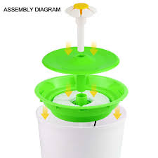 <b>Automatic Cat</b> Water Fountain Drinking <b>Auto</b> Water Dispenser ...