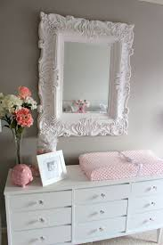 chic nursery furniture pink grey
