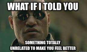 morpheus what if i told you meme via Relatably.com