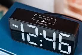 <b>LED Digital</b> Bedroom Quartz <b>Travel</b> Alarm Clock <b>Snooze</b> Analogue ...