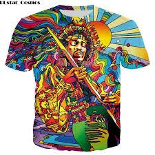 <b>Plstar Cosmosnew Musician</b> 3d Colorful A Groovy <b>Hippie</b> Unisex T ...