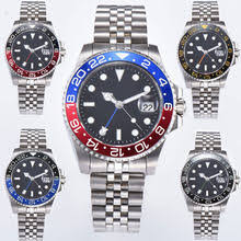 Online Shop <b>39mm Bliger</b> men watch black <b>Dial</b> Luminous Steel ...