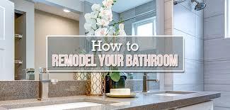<b>DIY</b> Bathroom Remodel: A Step-By-Step Guide | Budget Dumpster