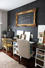 1000 ideas about double desk office on pinterest closet rooms offices and long desk basement office setup 3 primary