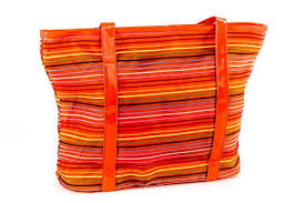 Beach/pool shoulder bag woman <b>GIANMARCO VENTURI</b> orange V60