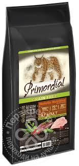 Купить <b>Сухой корм</b> для котят <b>Primordial</b> Утка и Индейка 6кг с ...