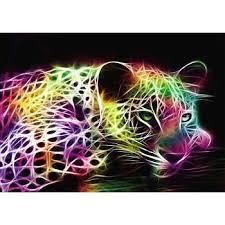 <b>Leopard</b> in <b>5D Full</b> Drill Painting |Online Shopping|NewFrog