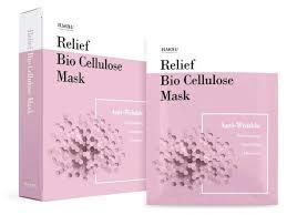 ELMOLU <b>тканевая маска против</b> морщин Relief Bio Cellulose ...