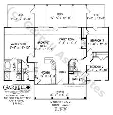 Country Cottage House Plan   Active Adult House Planscountry cottage house plan   st floor plan