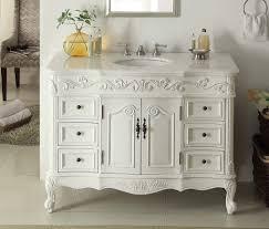 traditional style antique white bathroom:   adelina  inch traditional style antique white white bathroom vanity