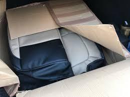 Купить <b>чехлы на сиденья</b> из <b>экокожи</b> для Lada Vesta