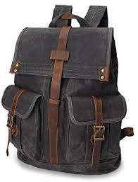 <b>Men's</b> Shoulder Bag Oil Wax <b>Canvas Outdoor Sports</b> Travel Bag ...