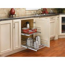 shelf side mounted sliding kitchen drawer basket can the two tier shelf set be installed in a cabinet with a drawer i n