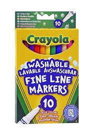 """<b>Фломастеры</b> """"<b>Crayola</b>"""", смываемые, <b>10 цветов</b> — купить в ..."""