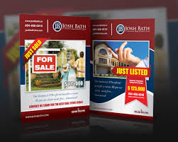 upmarket bold marketing flyer designs for a marketing business flyer design design 865586 submitted to just listed just flyers