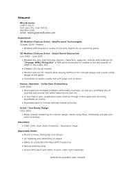 resume for artist resume for artist 5035