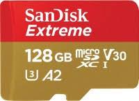 <b>SanDisk Extreme</b> V30 A2 microSDXC UHS-I U3 128 ГБ (SDSQXA1 ...