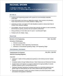 Civil Engineer Resume Templates     Free Samples  PSD  Example     Resume   Free Resume Templates gtu engineering material