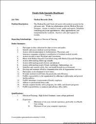 office clerk job description for resume   free samples   examples    office clerk job description for resume