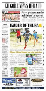 kilgore news herald 25 2015 edition by james draper issuu