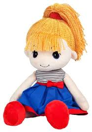 <b>Мягкая игрушка Maxitoys Кукла</b> Стильняшка блондинка 40 см ...