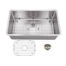 steel kitchen sink stainless x soleil ampquot x ampquot stainless steel  gauge radius single bowl kit