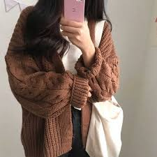 Batwing Sleeve <b>Long Cardigan Sweaters Women</b> 2018 Fall Autumn ...