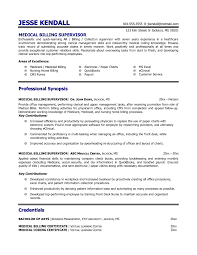 Medical Billing Resume Examples Resume Examples And Free Resume