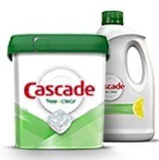 Cascade <b>Free & Clear</b> Dishwasher Detergent   Cascade Detergent