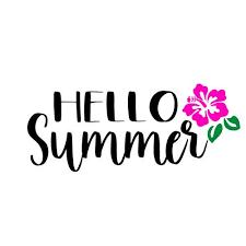 Free <b>Hello Summer</b> SVG Cut File