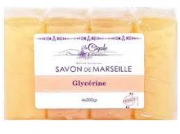 <b>Мыло</b> марсельское глицериновое, 4 шт по 200 гр, <b>LA CIGALE</b> ...