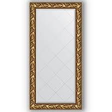 <b>Зеркало в багетной раме</b> Evoform барокко серебро 120х180 см ...