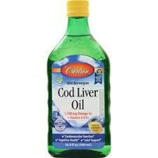 Carlson <b>Wild Norwegian Cod Liver</b> Oil on sale at AllStarHealth.com